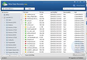 Wise Data Recovery 4.11 Crack with Product Key Full Version Free Here