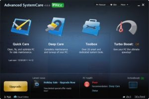 Advanced SystemCare Pro 12.2.0.315 Crack with Product Key Download