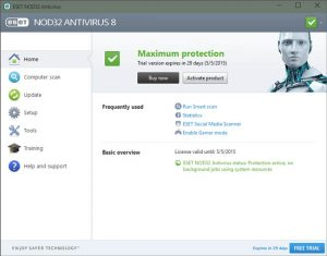 ESET NOD32 AntiVirus 12.1 Crack