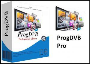 ProgDVB Professional 7.27.9 Crack